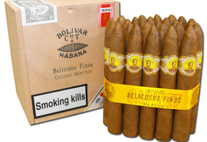 Bolivar Belicoso Fino Top Popular Cigarillo Brands 2018