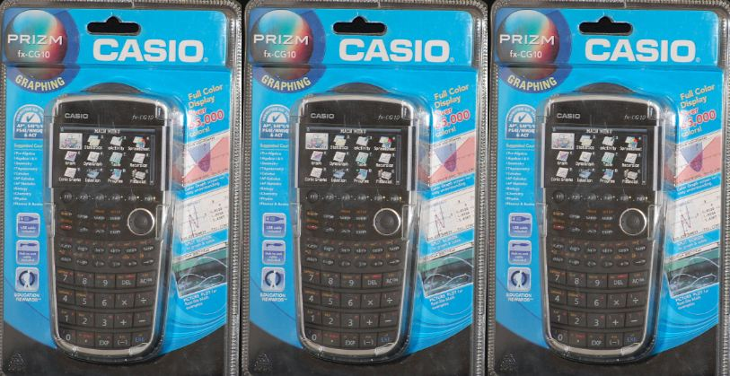 Casio FX-CG10 PRIZM color graphing calculator Top Most Selling Calculator Brands 2017