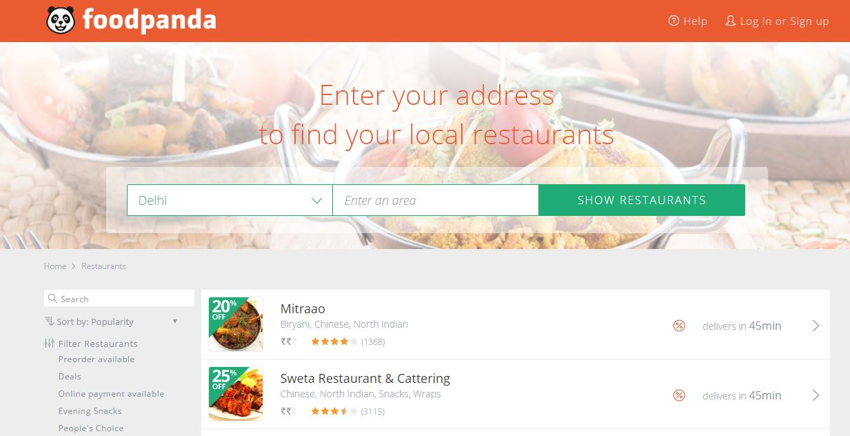 food-panda-top-famous-online-grocery-stores-of-india-2019
