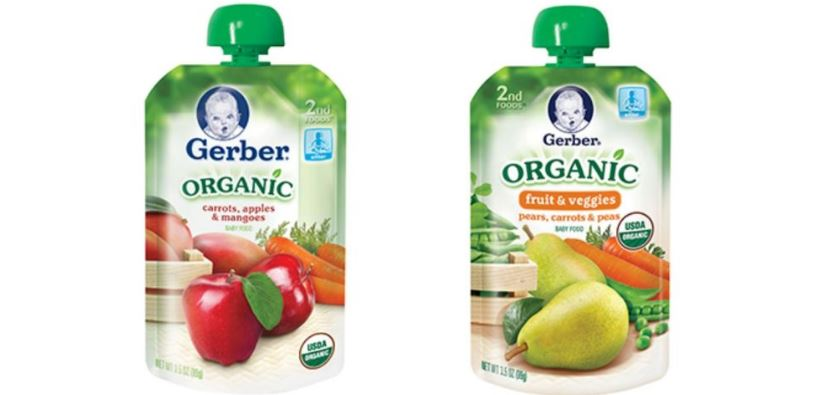 GERBER Top Most Famous Baby Food Brands 2018