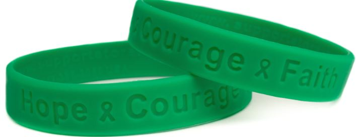 Green Top Popular Livestrong Wristband Colors 2018
