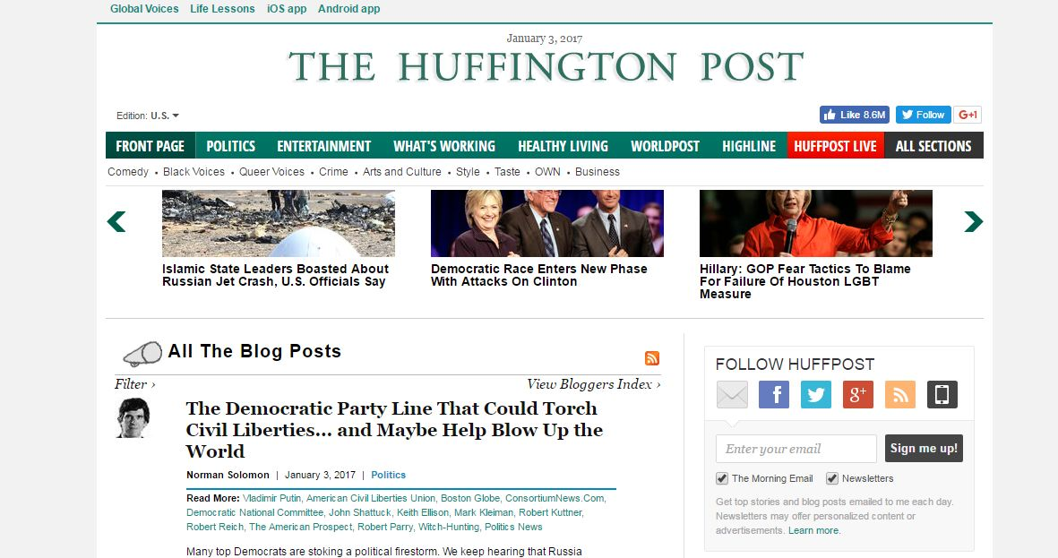 huffington-post-top-best-blogs-websites-2018