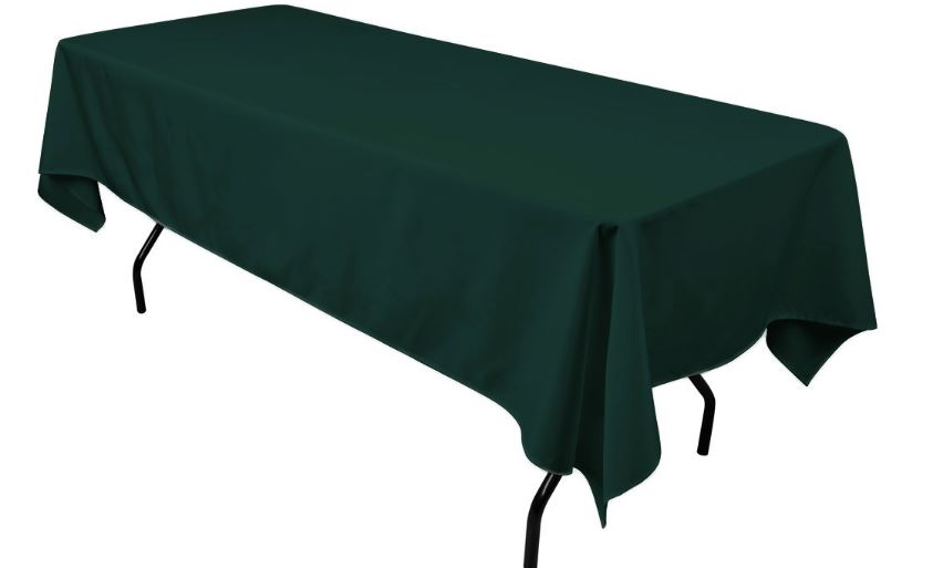 hunter-green-top-most-popular-colors-for-table-cloths-2018