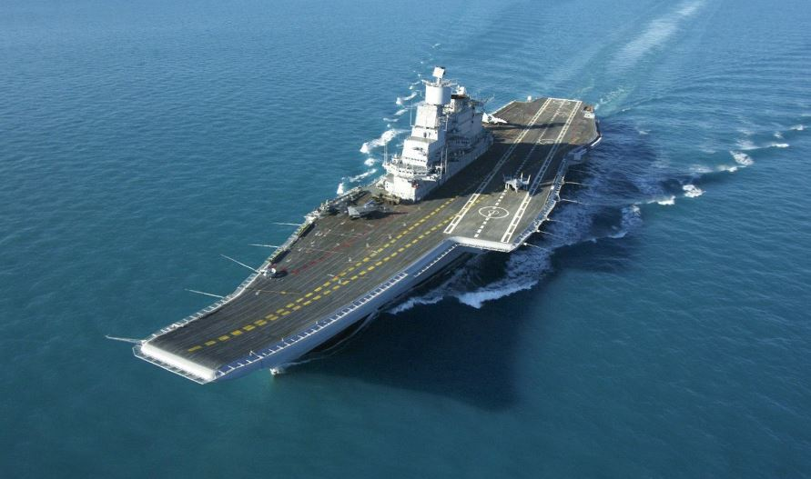 INS Vikramaditya- India Top Famous Largest Aircraft Carriers in World 2019