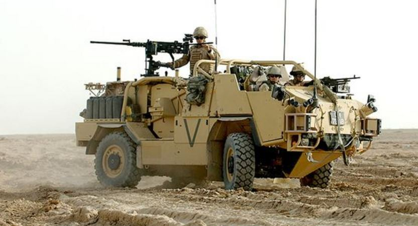 Jackal Recce vehicle Top 10 Most Badass Machines Ever Made