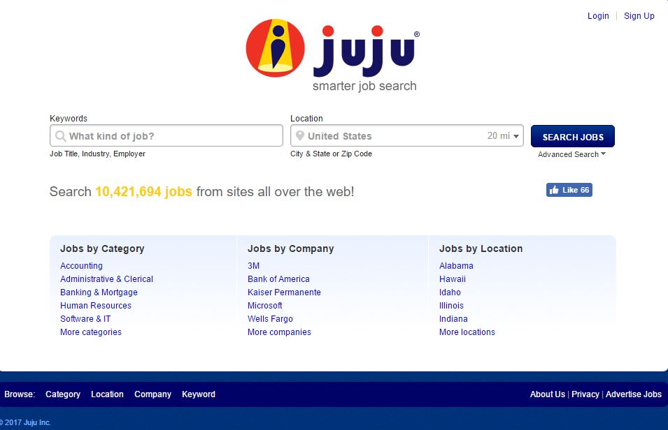 Juju Top Most Best International Jobs Websites 2019
