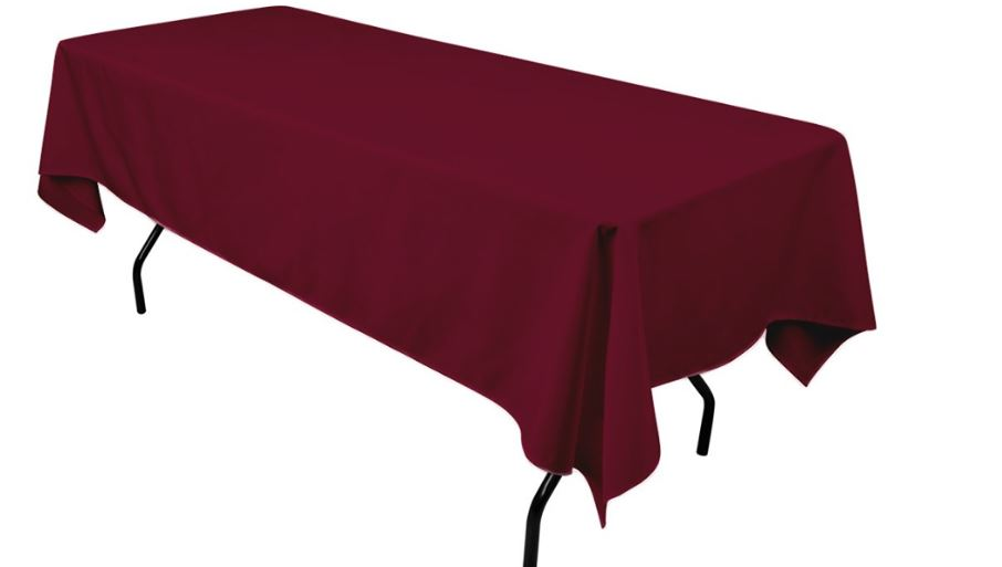 maroon-top-popular-colors-for-table-cloths-2019