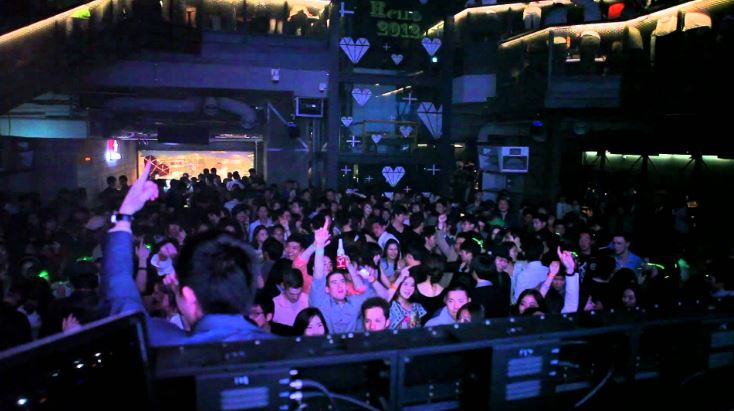 Octagon- Seoul Top 10 Best Dance Clubs in The World