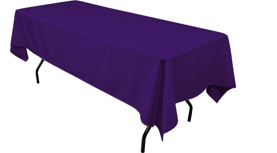 Plum (Purple) Top 10 Best Colors For Table Cloths
