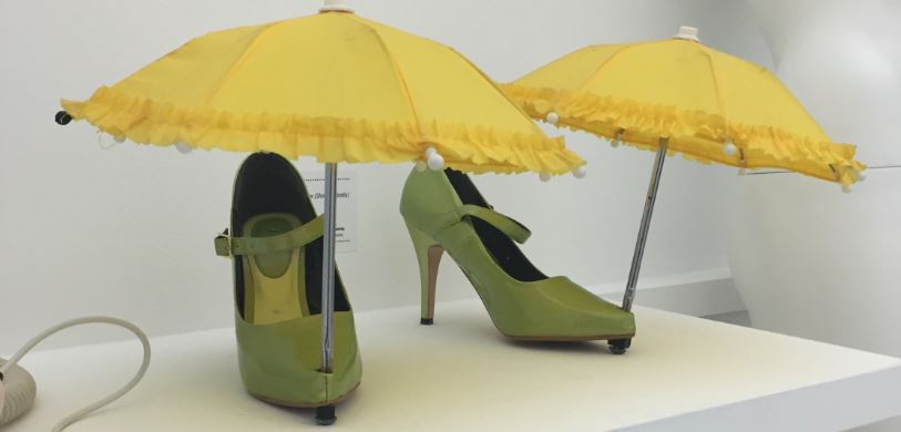 shoe-umbrellas
