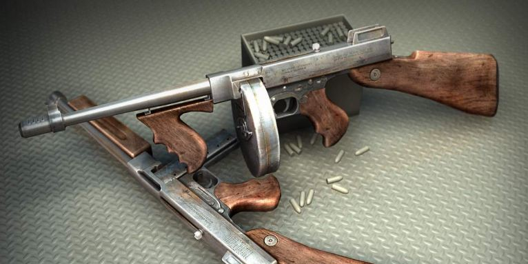 thompson-m1921-submachine-gun