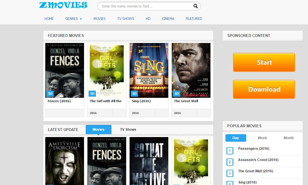 Top 5 Websites for Watching Online HD Movies for