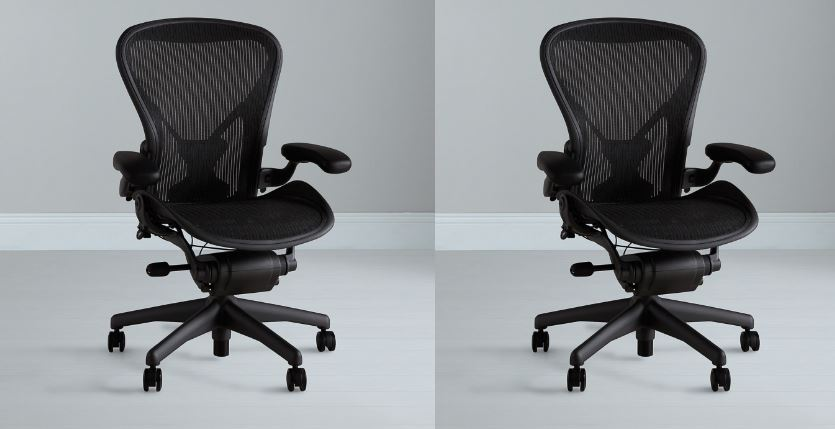 AERON office chair by Herman miller Top 10 Best Selling Ergonomic Chairs 2017