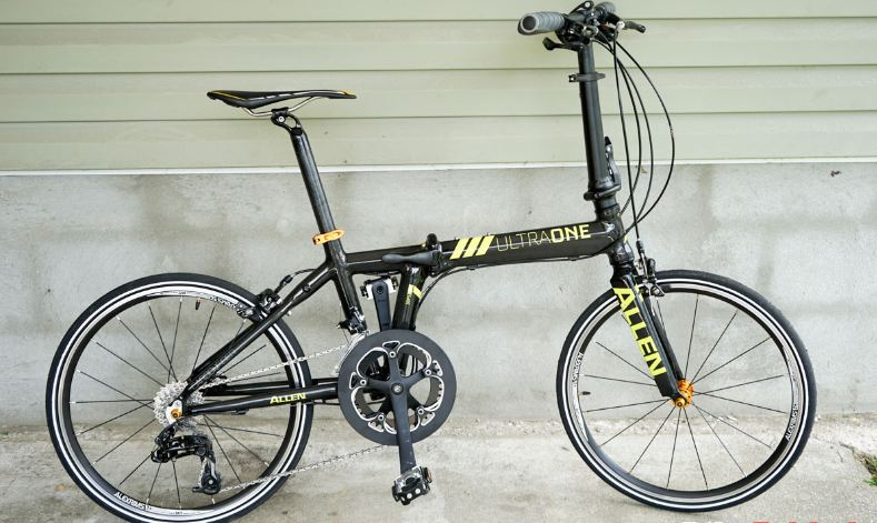 Allen Sports Ultra 1 Carbon 20 Speed Folding Bicycle