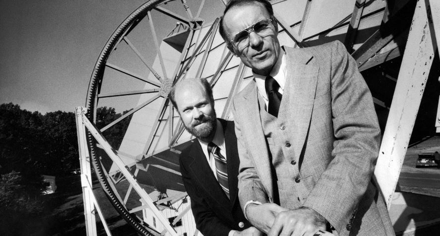 Arno Penzias and Robert Wilson Top 10 Greatest Astronomers in History 2017