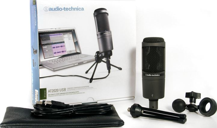 Audio-Technica AT2020USB Top Most Selling Condenser Microphones 2017