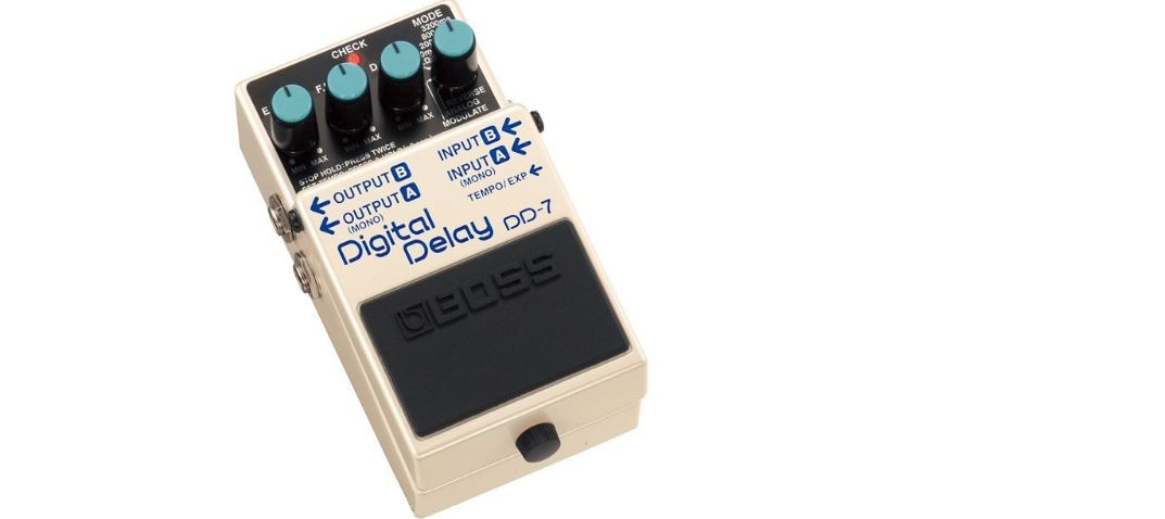 Boss DD-7 Digital Top Most Famous Selling Delay Pedals 2018