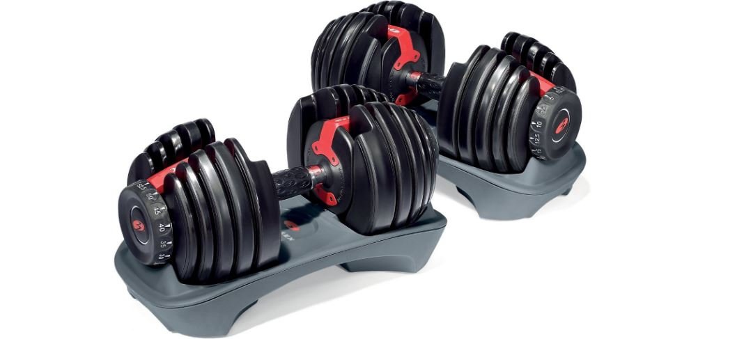 Bowflex SelectTech 552 Adjustable Dumbbells Top 10 Best Selling Adjustable Dumbbells 2017
