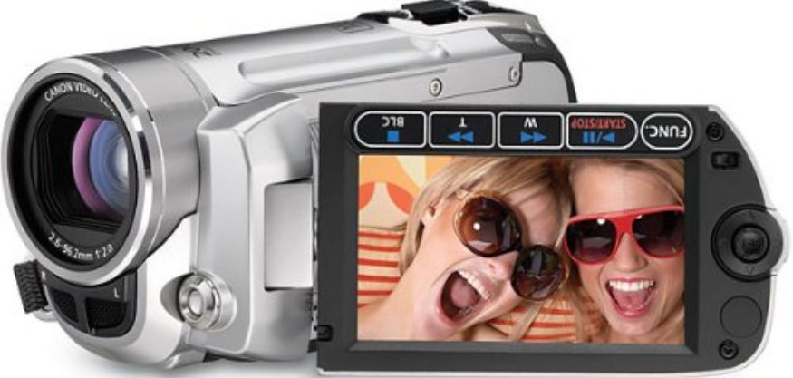 Canon FS10 Flash Memory Camcorder- 8GB internal flash memory & 48x advanced zoom