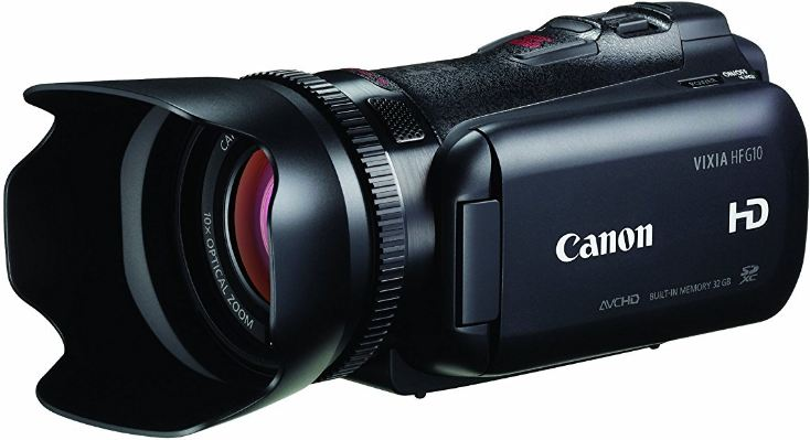 Canon VIXIA HF G10 Full HD Camcorder Top Popular Selling Flash Camcorders 2018