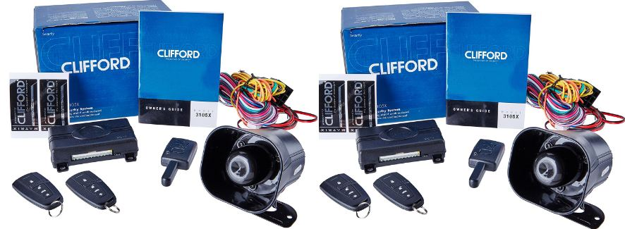 Clifford Matrix +1 Top Popular Selling Car Security Alarms 2018
