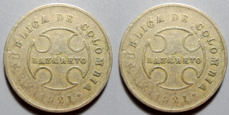 Colombia's Leprosy Coins- The Lazareto Top Most Ancient Coins of All Time 2017