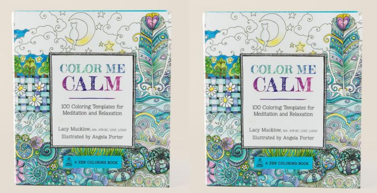 Color Me Calm 100 Coloring Templates for Meditation and Relaxation