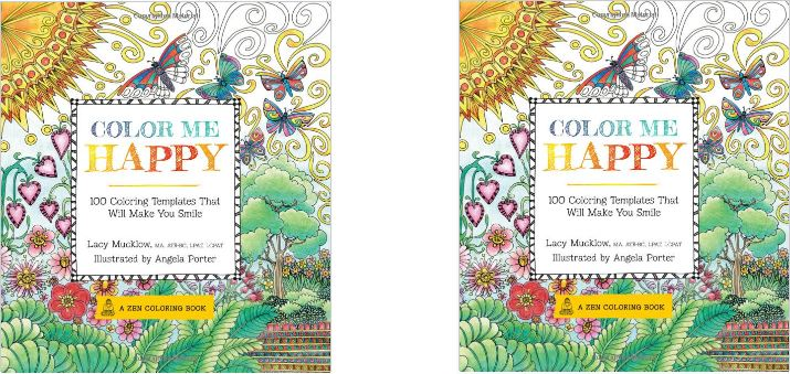 Color Me Happy 100 Coloring Templates That Will Make You Sleep