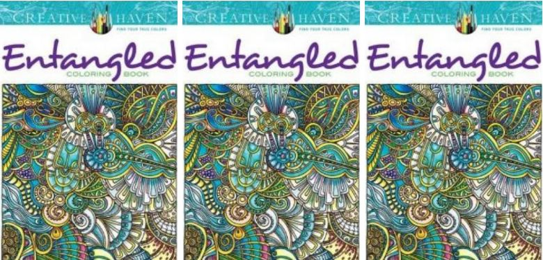 Creative Haven Entangled Coloring Book Top Famous Selling Adult Coloring Books 2019