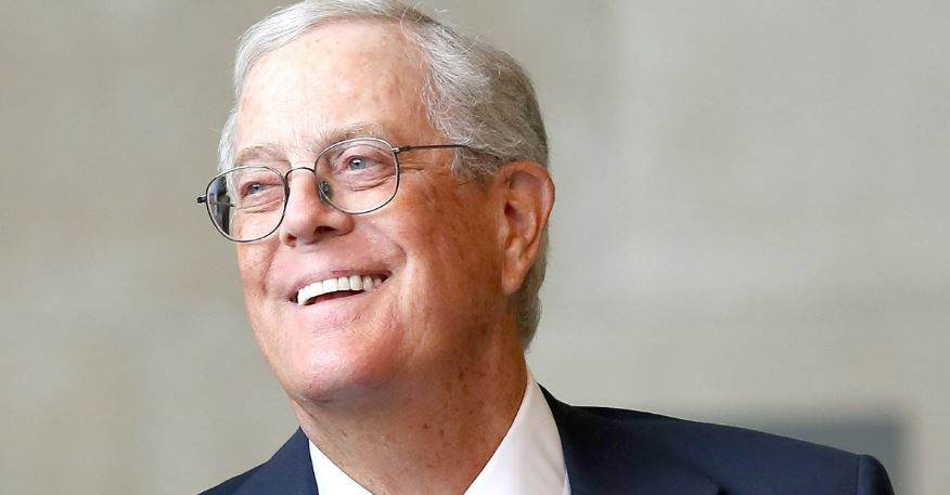 David Koch Top Famous Billionaires 2018