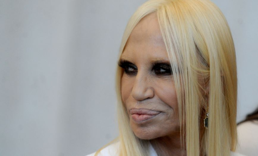 Donatella Versace Top Most Famous People With The Ugliest Faces of All Time 2018