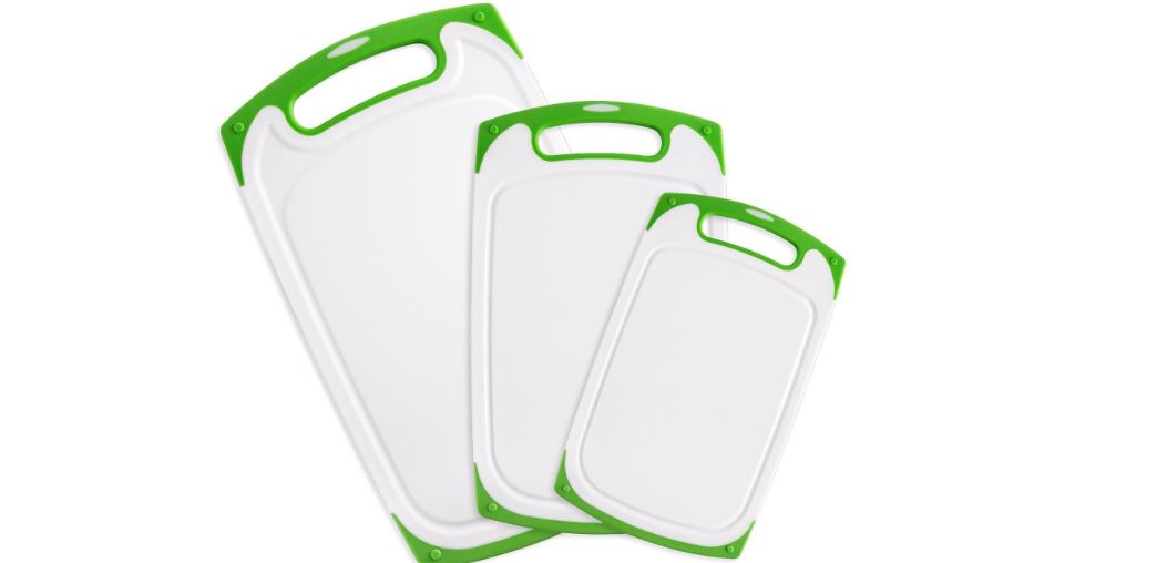 Dutis 3-Piece Dishwasher Safe Plastic Cutting Board Top Best Selling Cutting Boards 2017