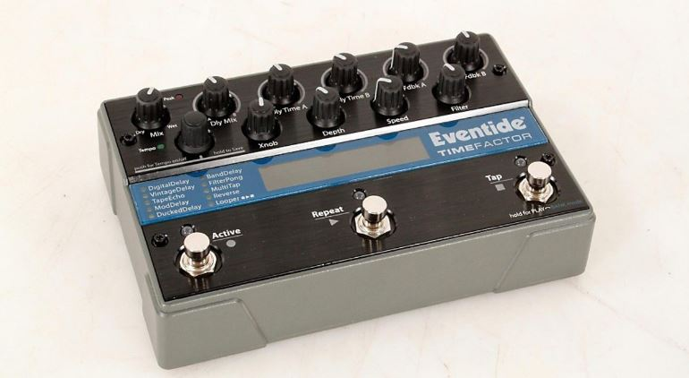Eventide TimeFactor Twin Delay Stompbox Top Famous Selling Delay Pedals 2019