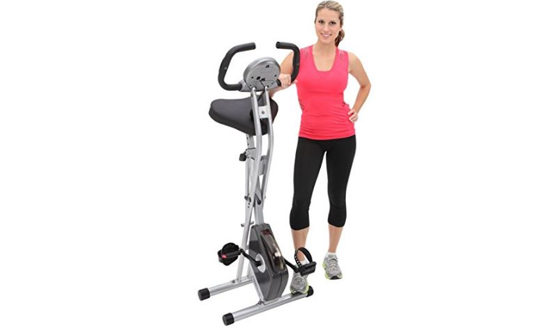 exerpeutic-folding-magnetic-upright-bike-with-pulse-top-most-popular-selling-exercise-bikes-2018