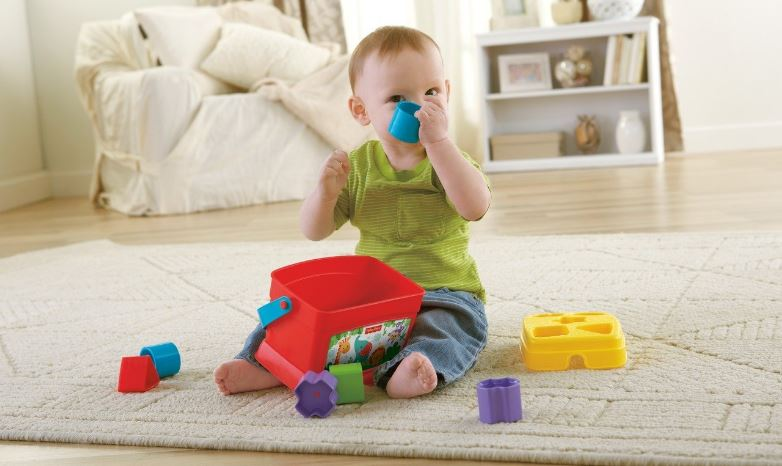 Fisher-Price Brilliant Basics First Blocks Top Most Famous Selling Educational Toys 2018