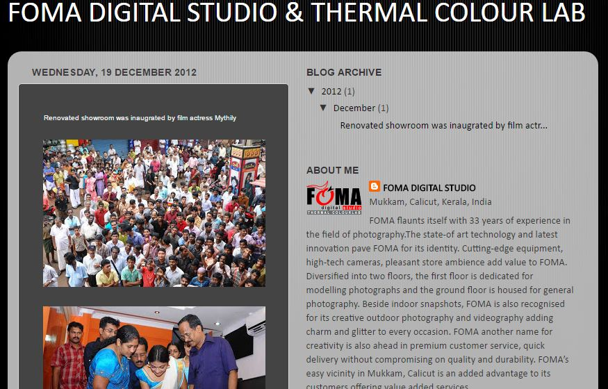Foma Digital Studio & Thermal Color Lab