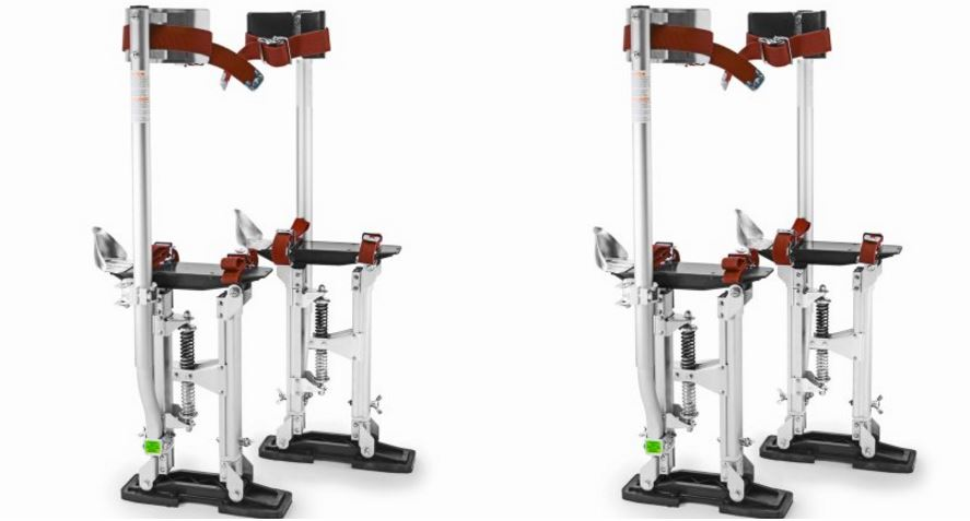 "GypTool Pro 24"" – 40"" Drywall Stilt Top Most Famous Selling Drywall Stilts 2018"
