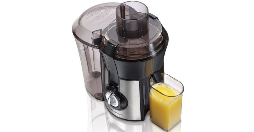 Hamilton Beach Juice Extractor, Big Mouth, Metallic (67608A) Top Popular Selling Centrifugal Juicers 2019