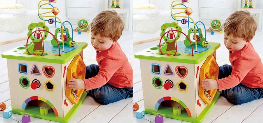 Hape Wooden Activity Cube Top Famous Selling Activity Cubes 2019