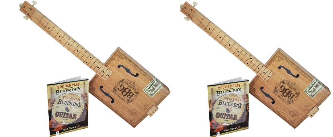 Hinkler EBB Electric Blues Box Slide Guitar Kit Top Popular Selling Electric Guitars 2019