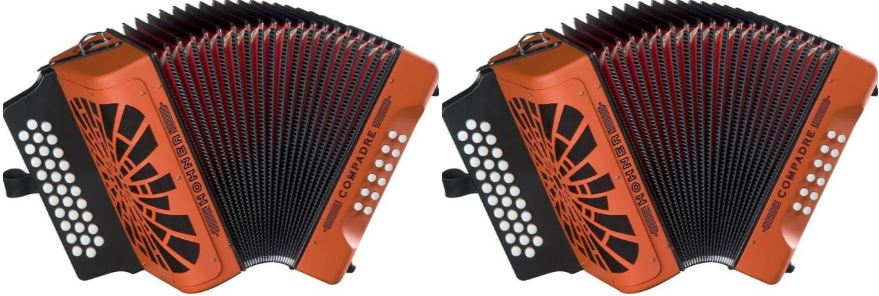 Hohner Compadre GCF Accordion Top Most Popular Selling Accordions 2018