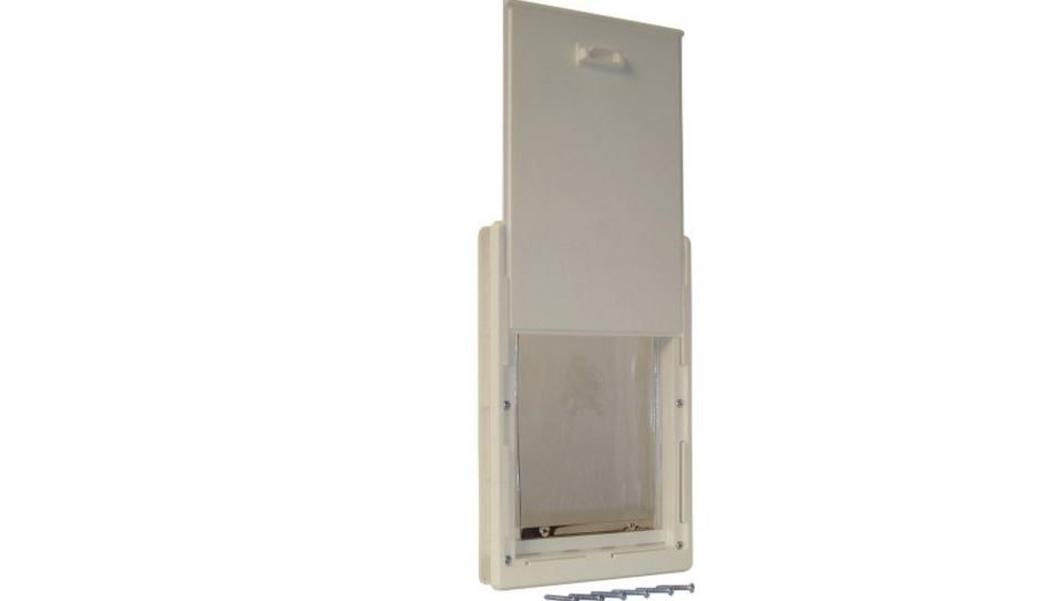 Ideal Pet Products Original Pet Door with Telescoping Frame(medium) Top Most Popular Selling Dog Doors 2018