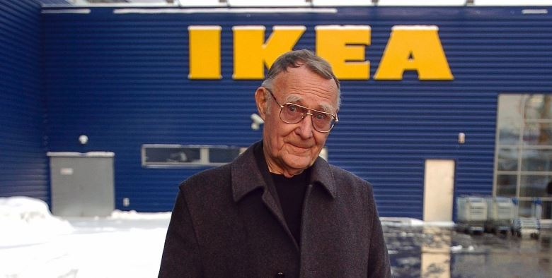 Ingvar Kamprad Top Popular Billionaires 2019