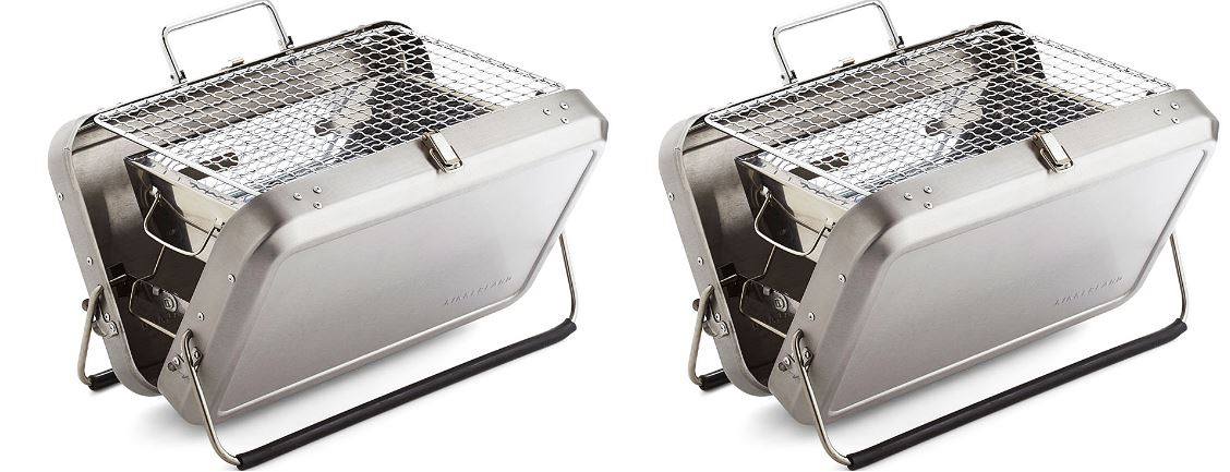 kikkerland-stainless-steel-portable-bbq-suitcase-top-most-famous-selling-charcoal-grills-2018
