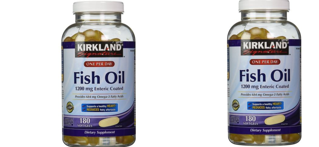 Kirkland Signature Fish Oil Concentrate with Omega-3 Fatty Acids (800 Softgels) Top Famous Selling Fish Oil Supplements 2019