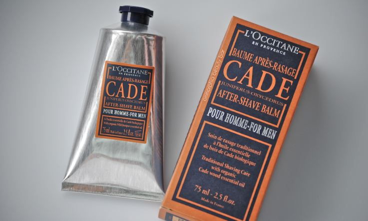 L'Occitane Cade After Shave Balm For Men Top Popular Selling Aftershave Balms 2018