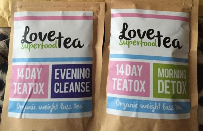 Love Superfood Tea Top Most Popular Selling Detox Teas 2018