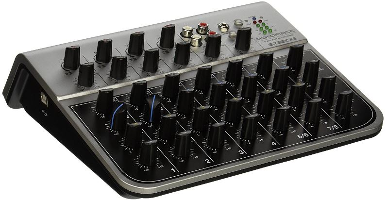 Monoprice 615808 Audio Mixer Top Most Famous Selling Audio Mixers in 2018