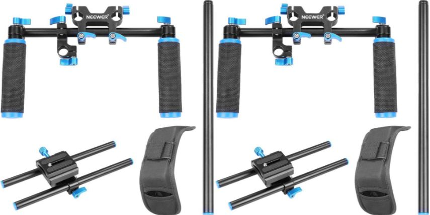 NEEWER® Shoulder Mount Support Rig for DSLR Top 10 Best Selling DSLR Shoulder Rigs
