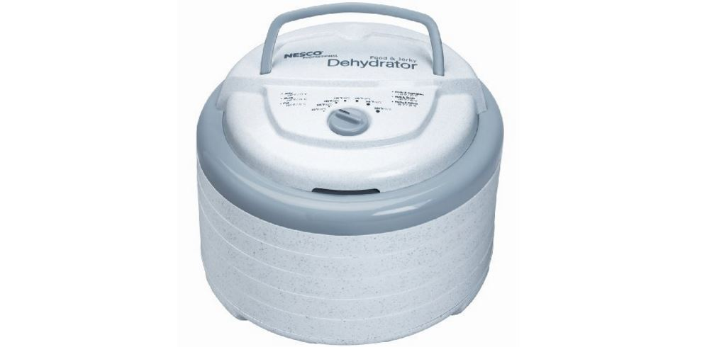 Nesco FD-75A Snackmaster Pro Food Dehydrator White Top 10 Best Selling Dehydrators